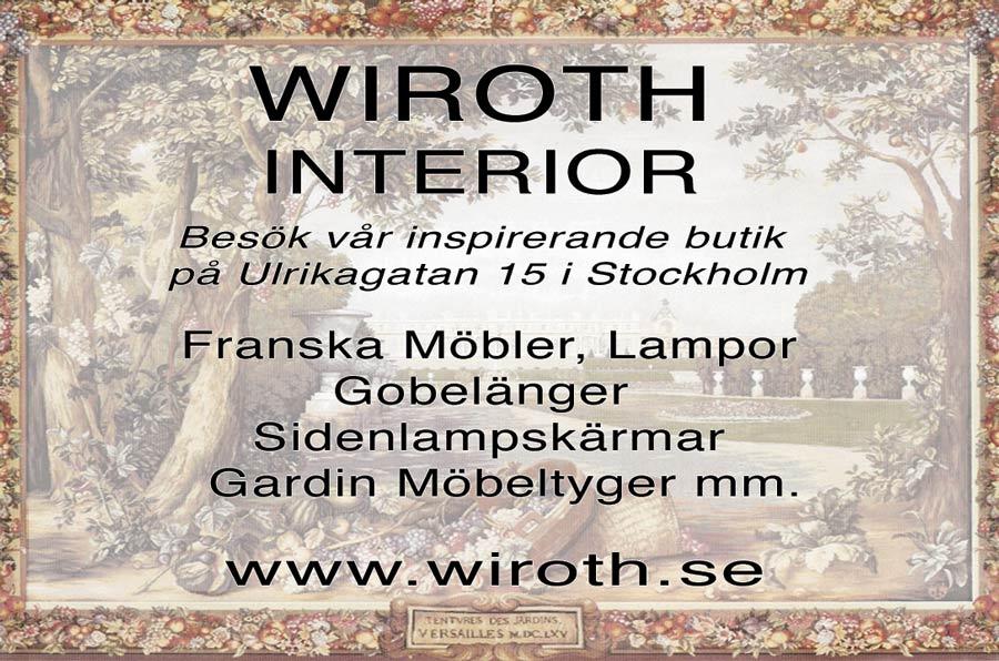wiroth interior gobelänger