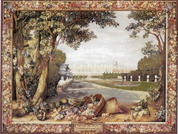 GOBELÄNG 1141 Versailles Des Jardin. 150x200, 110x150 cm.