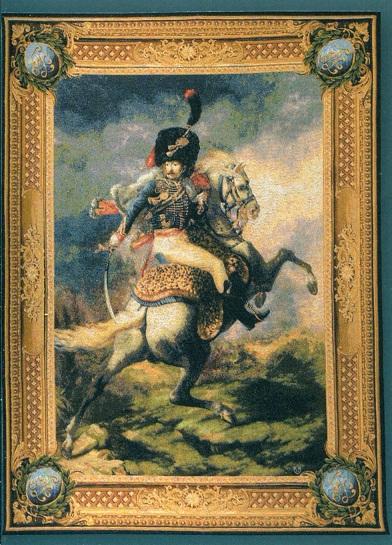 GOBELÄNG 9036 Cavalier de la garde Impériale. 200x150. 150x110. Klicka för stor bild.