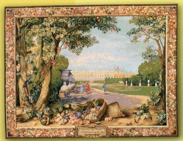 GOBELÄNG 9116 Versailles. 150x200. 110x150. Klicka för stor bild.