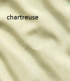 Chartreuse silk