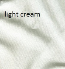 Light cream silk