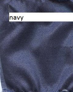 Navy blue silk